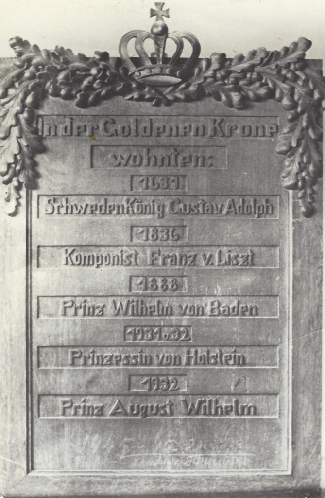 Gustav Adolf von Schweden rastet in Fürstenwalde