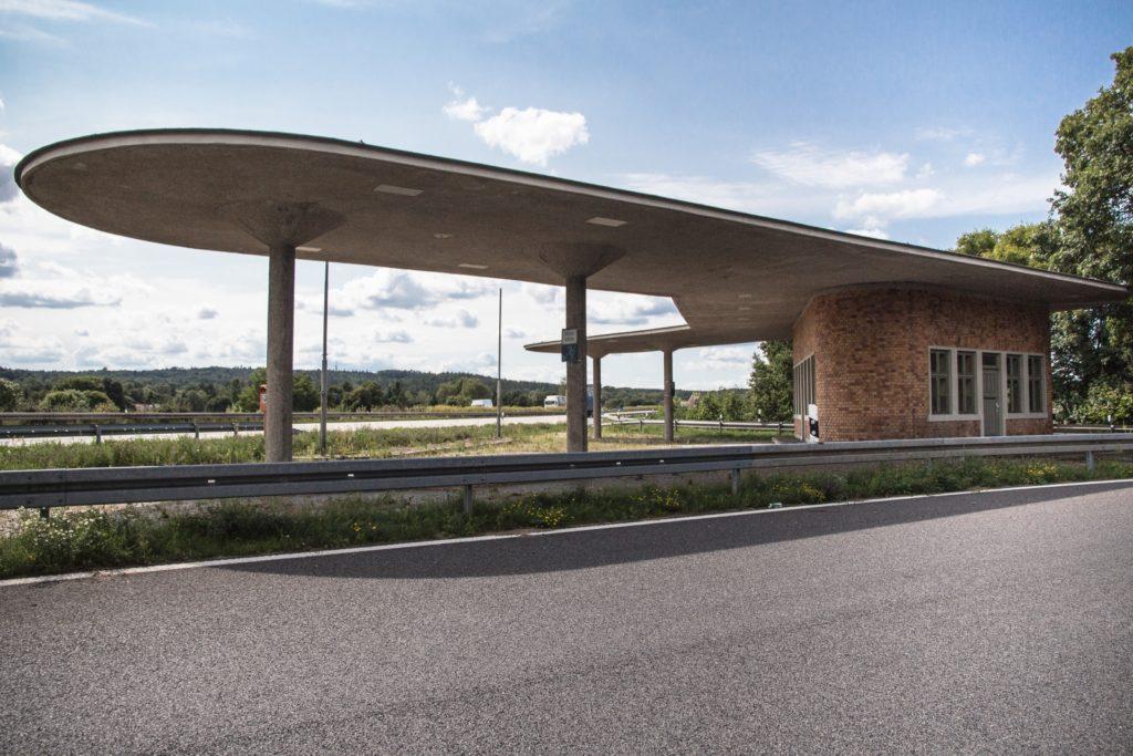 Tankstelle an der Abfahrt Fürstenwalde