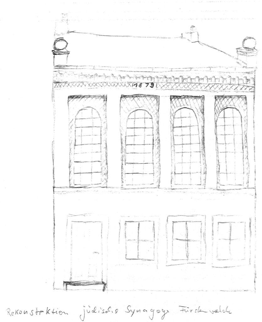 Einweihung der Synagoge in der Frankfurter Straße